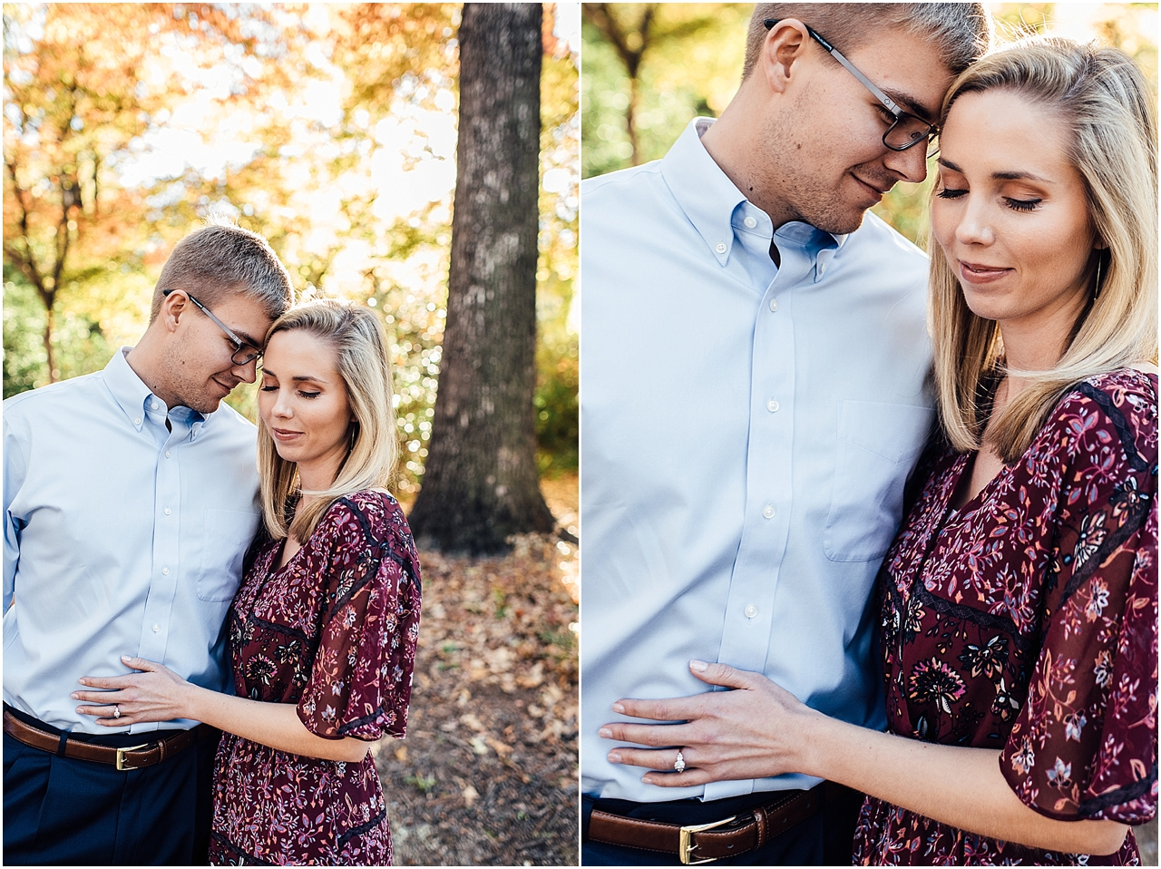 Lindsey Ann Photography -Engagement session at the Botanical Gardens in Downtown Birmingahm