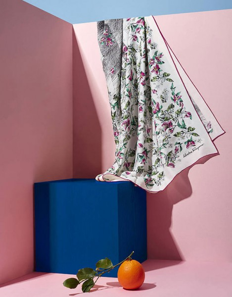 Salvatore Ferragamo lança coleção com tecidos de fibra de laranja -