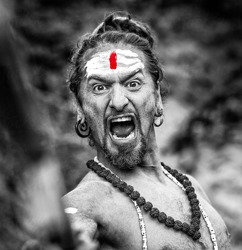 Sometimes there is no escaping the angry yogi within..... embrace it!