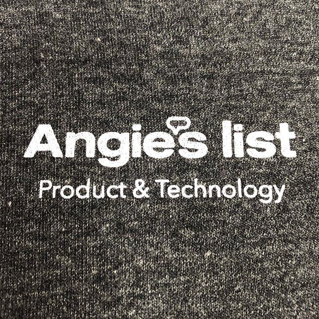 Shoutout to @angieslist for having us print on these SUPER soft Alternative Apparel hoodies.