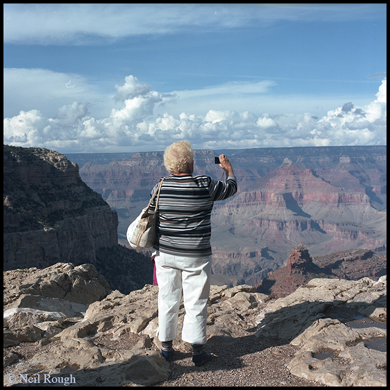 01a. AZ Grand Canyon Woman Photographing.jpg