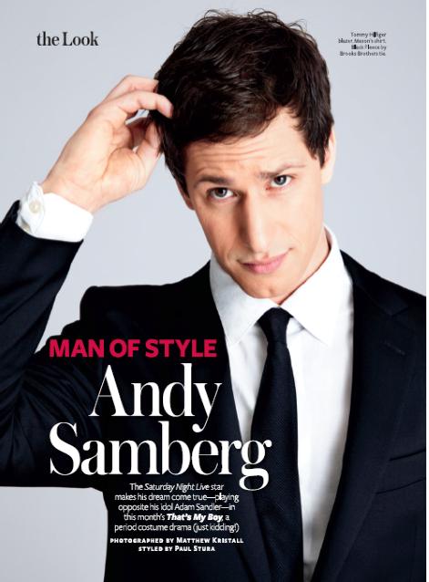 Andy Samdberg Work Example by Writer and Editor Megan Deem