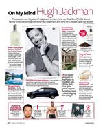 Hugh Jackman InStyle Magazine 2011