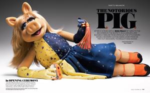 Miss Piggy InStyle Magazine