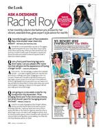 Rachel Roy InStyle Magazine 2011