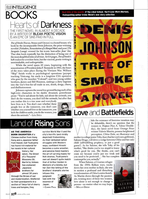 Elle Magazine Book Review by Megan Deem