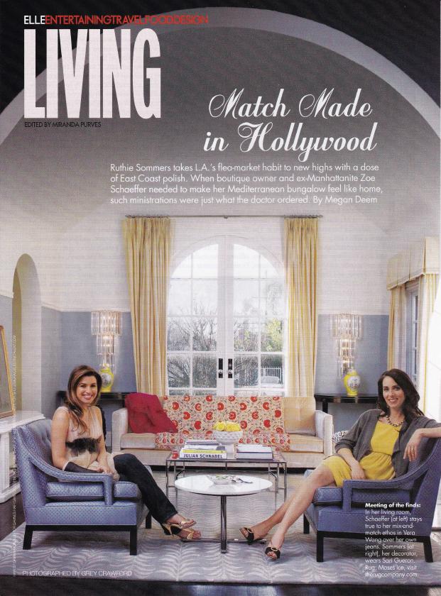 Elle Magazine Schaeffer House by Megan Deem