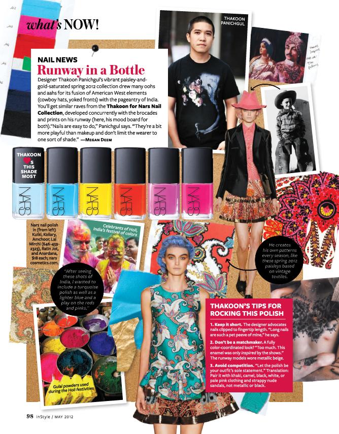 Thakoon Designer InStyle Magazine