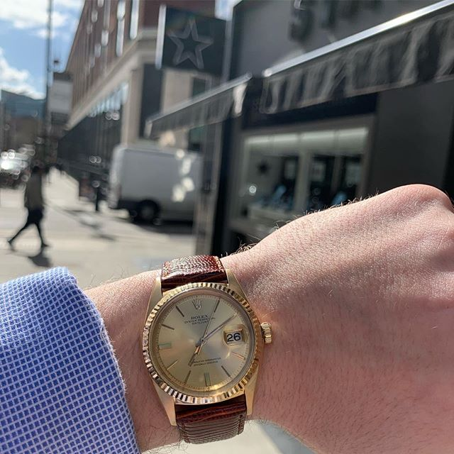 Thoughts on this stunner? 😍  #watches #rolex #watchesofinstagram #londonwatches #rolexwatch #vintage #vintagerolex #jewellery #londonjewellers #hattongarden #star #starjewellers #giftidea #mensfashion #menswatches #giftsforhim #inspiration
