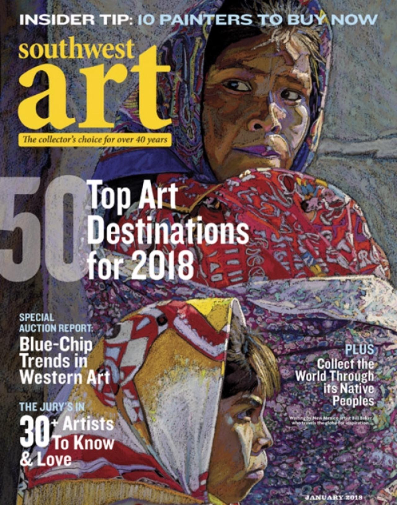 Southwest Art - Emerging Artists | Melinda LittlejohnDecember 15th, 2017
