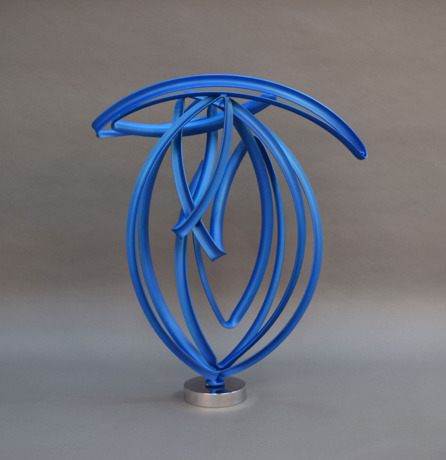 Bird in Blue 31 x 28 x 7""