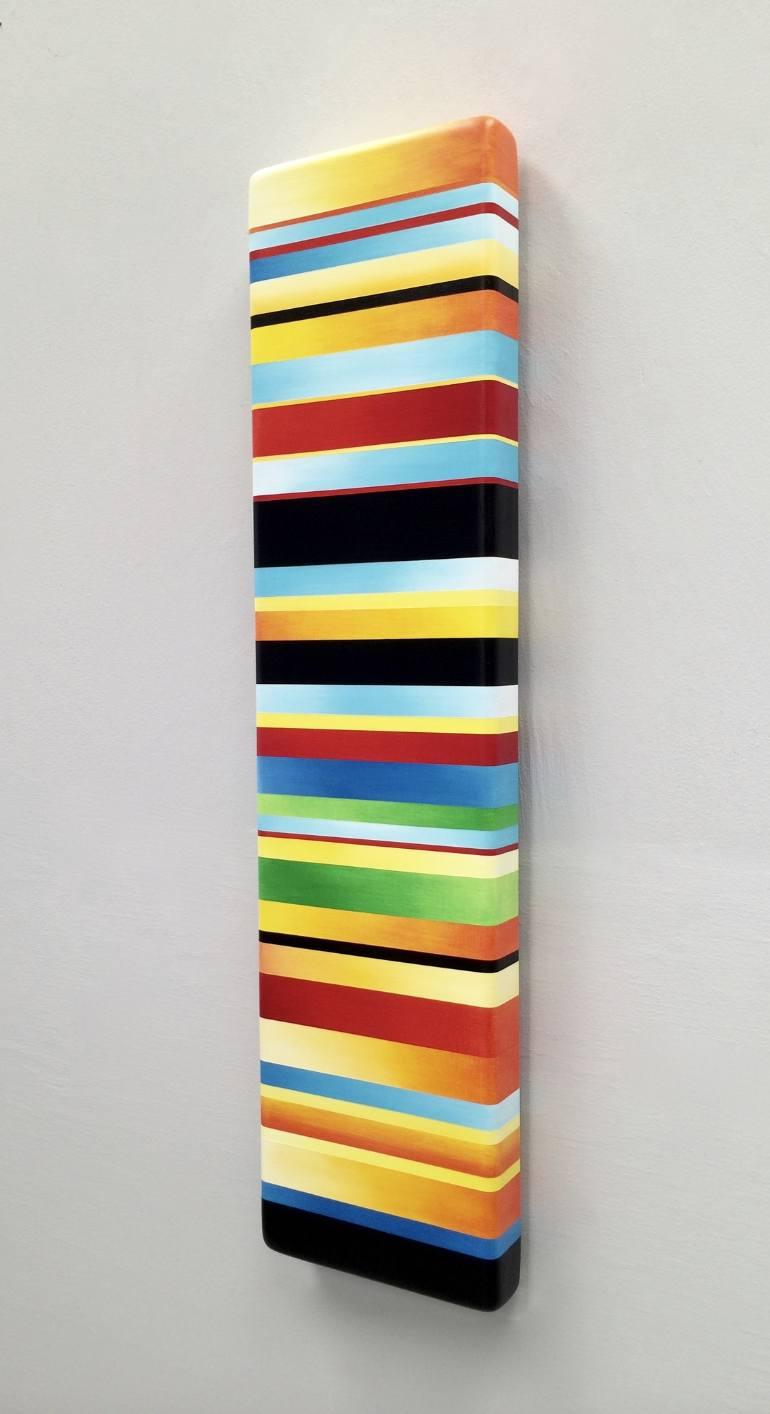 """Color Bar Elements  36 x 9 x 2.5"""" $ 2,450."""
