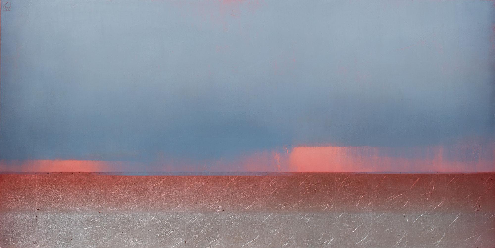 "🔴My Head in the Rainclouds  36 x 72"""