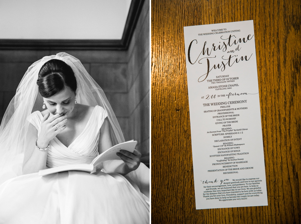 Case Western Reserve University Wedding
