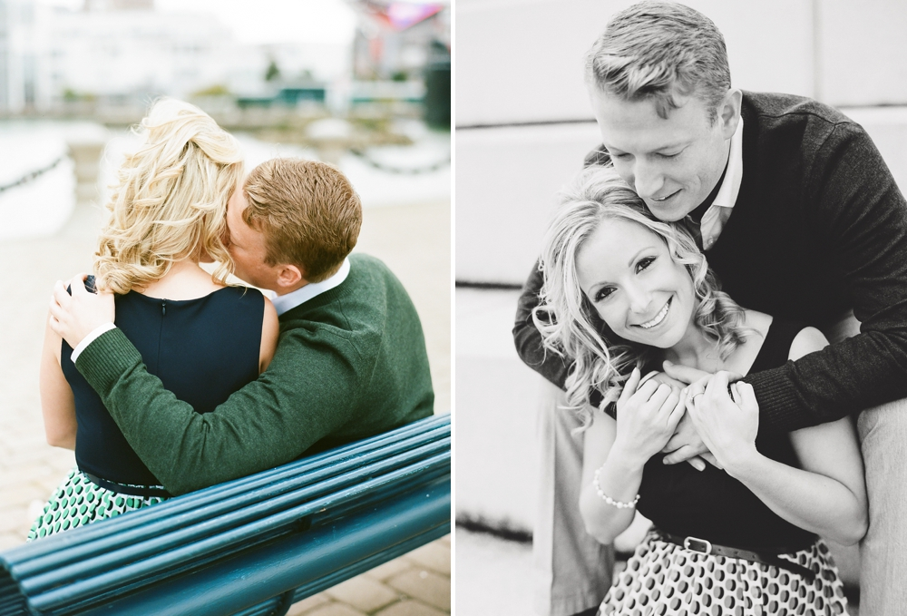 Voinovich Park Engagement Photos