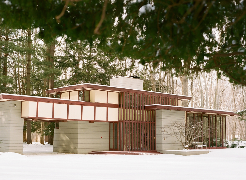Willoughby Ohio Frank Lloyd Wright House