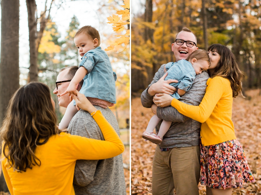 Lakewood Ohio Fall Family Photos