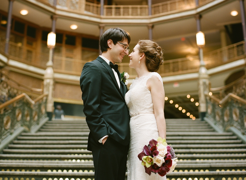 Cleveland Hyatt Arcade Wedding