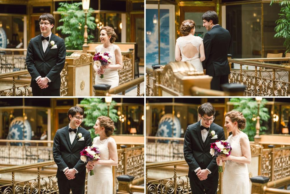 The Arcade Cleveland Wedding Photos