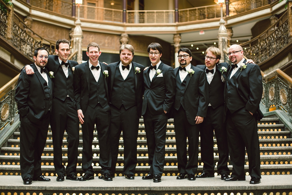 Classic Wedding at Cleveland Hyatt Arcade