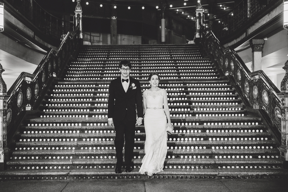 Downtown Cleveland Wedding Photographer