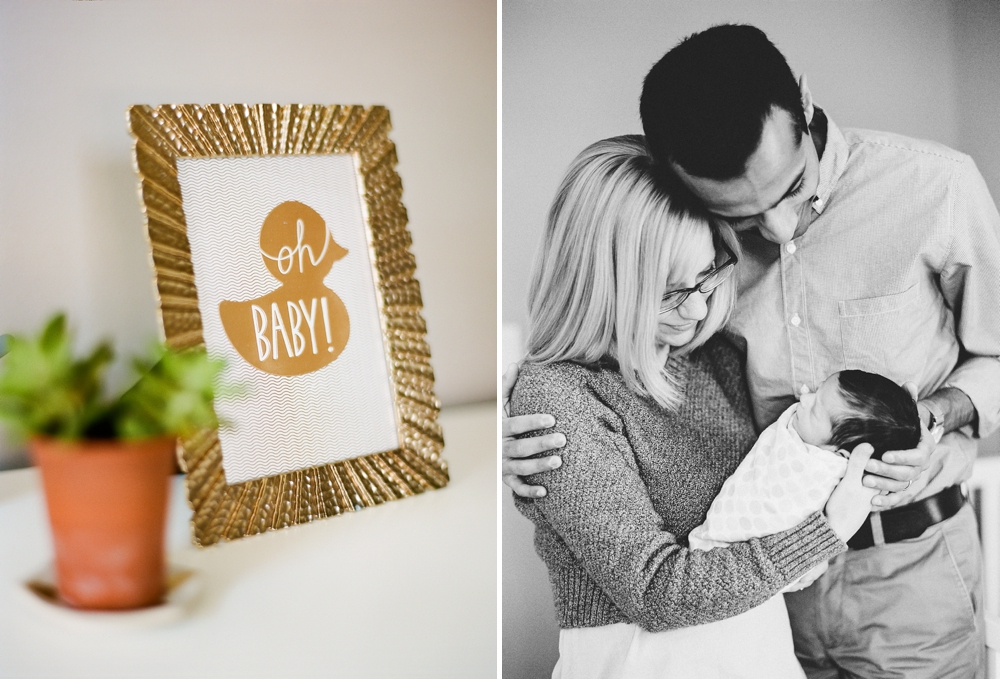 In-Home Cleveland Newborn Photographer