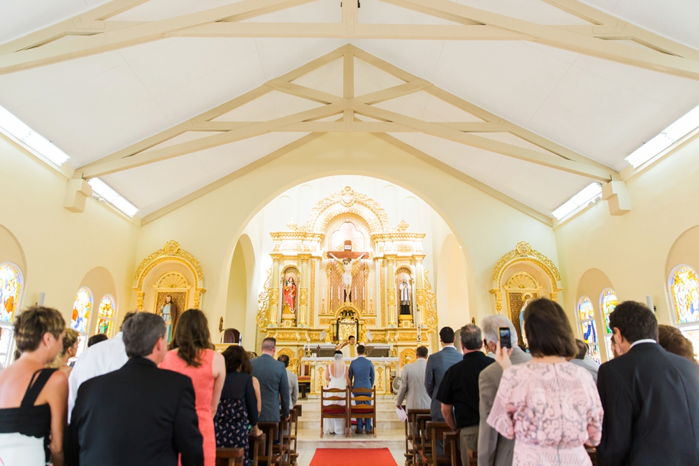 Santa Filomena Catholic Church Aruba Wedding