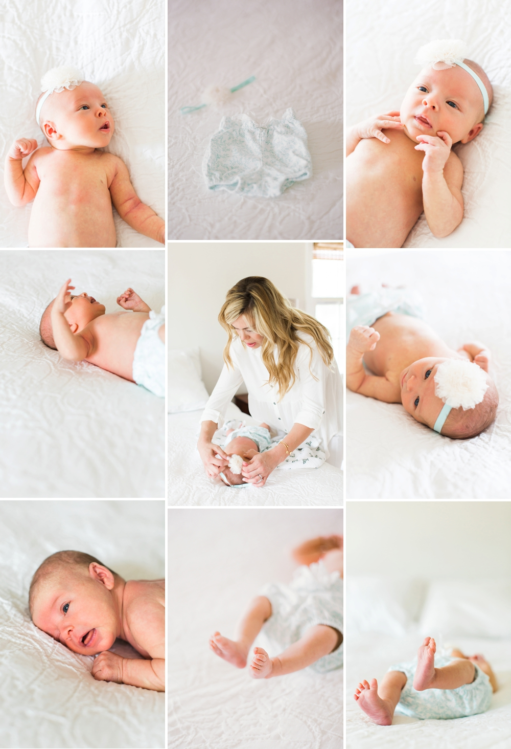 Cleveland Newborn Photos at Home