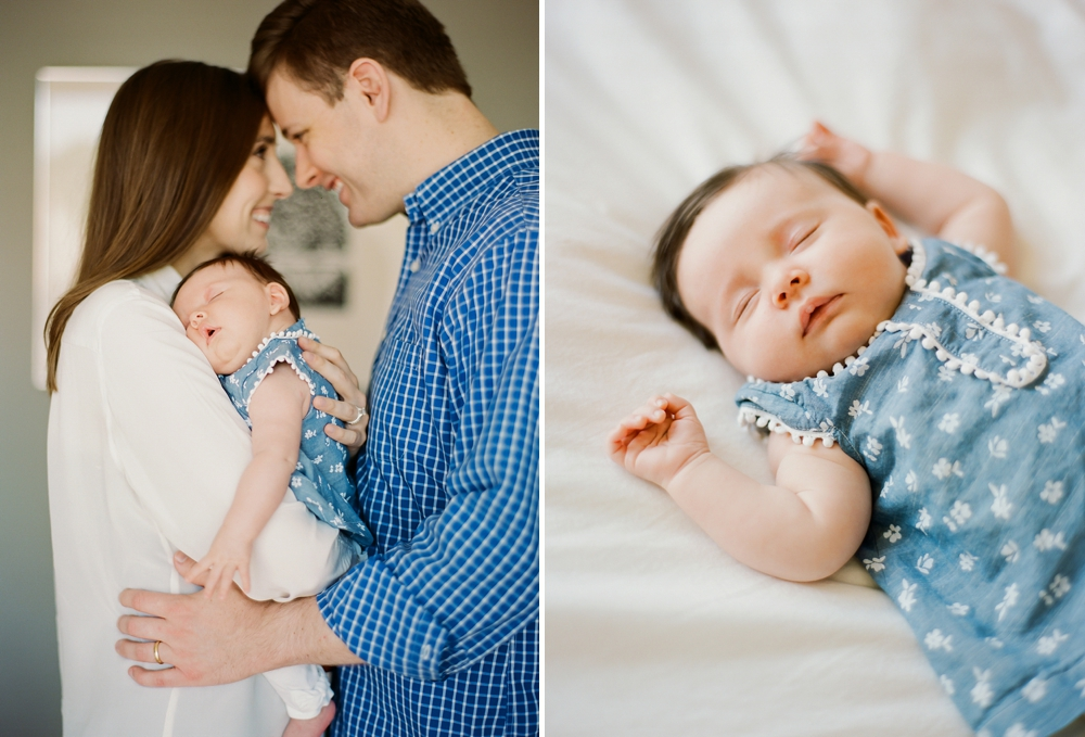 Cleveland In-Home Newborn Photos
