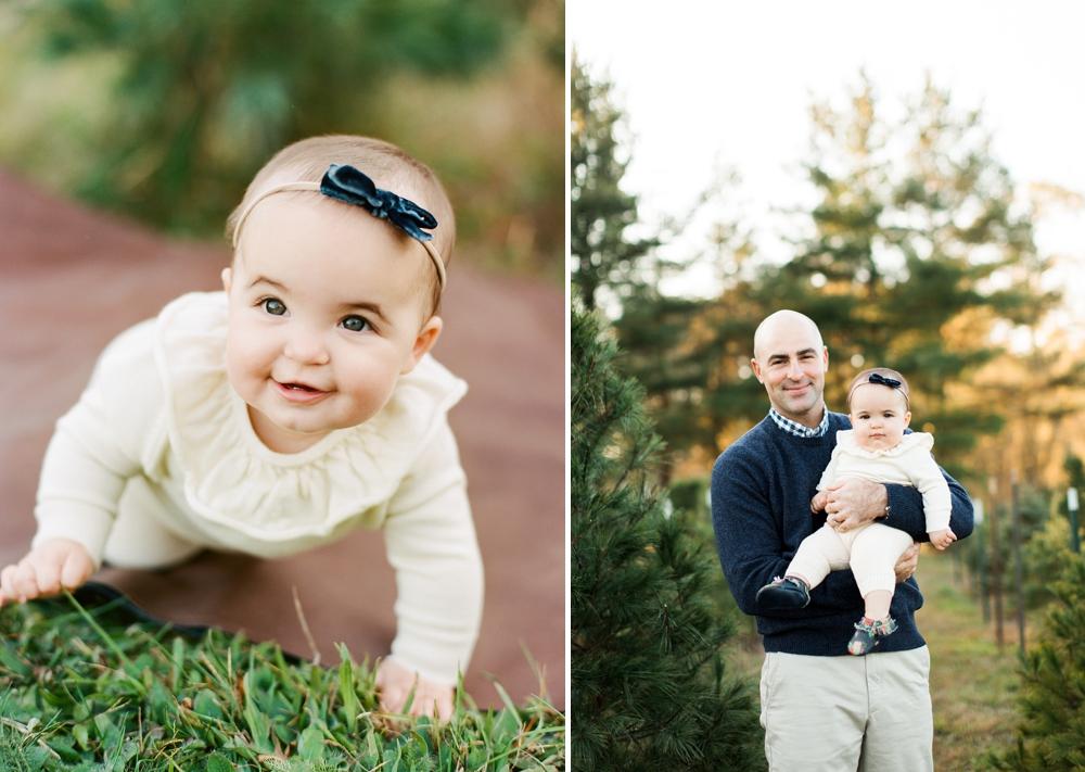 Family Photos at Cleveland Christmas Tree Farm