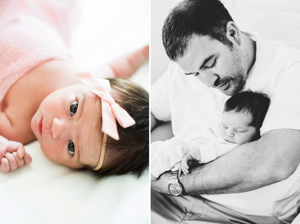 Cleveland In-Home Newborn Photographer