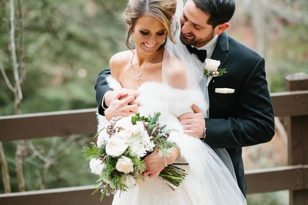 Brecksville Ohio Winter Wedding Photos