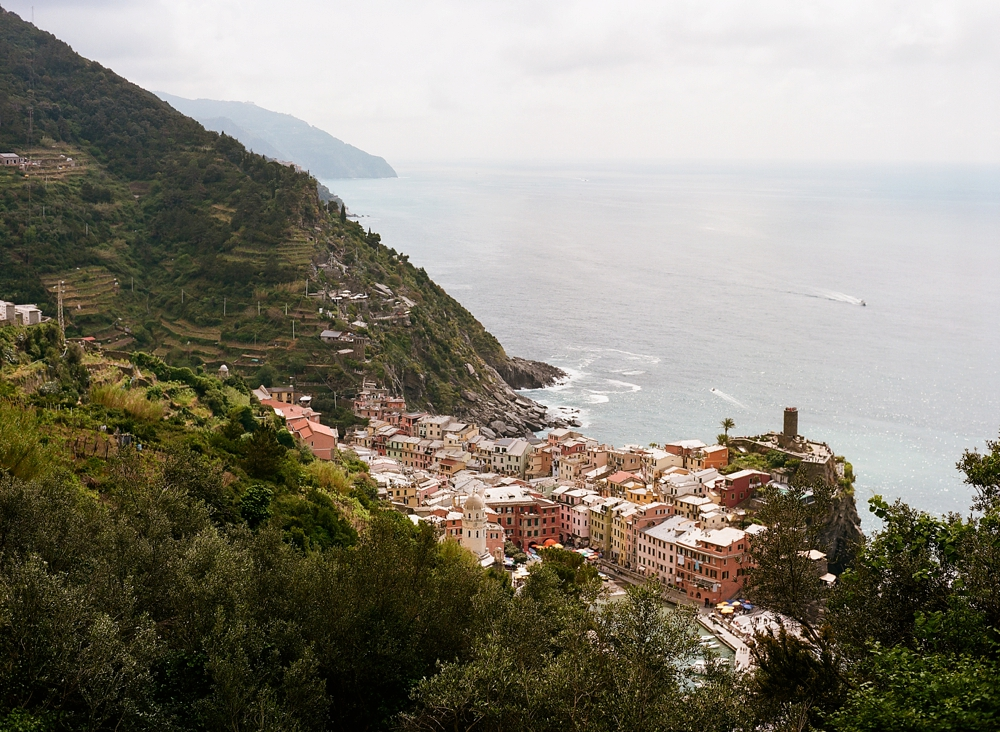 Vernazza Italy Cinque Terre Hiking Trail