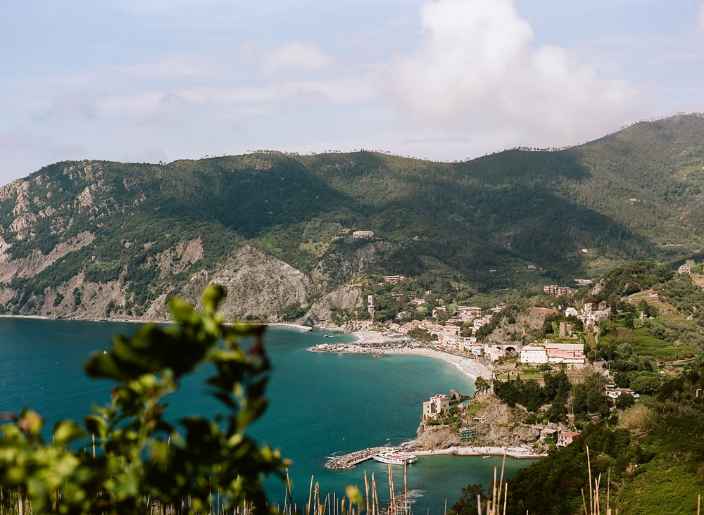 Monterosso al Mare from Cinque Terre Hiking Trail