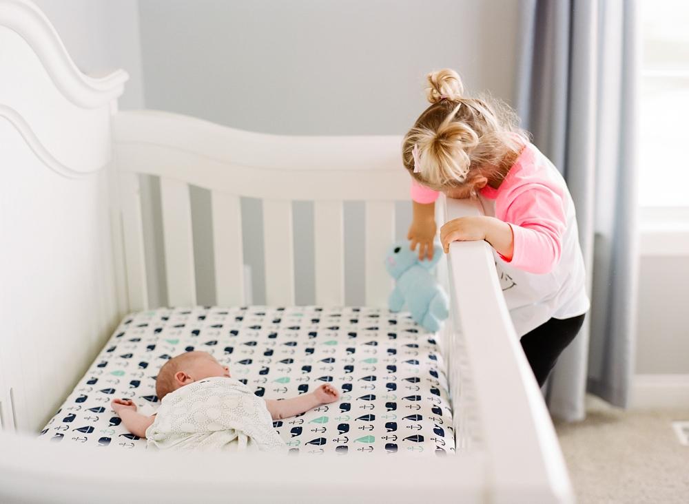 Hudson Ohio In-Home Newborn Photos