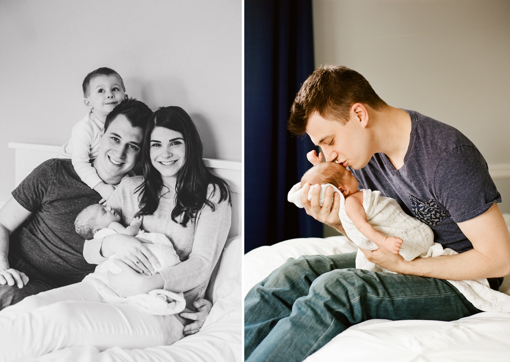 Ohio Newborn Photos with Siblings