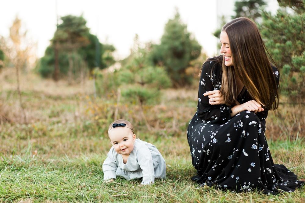 Medina Ohio Christmas Tree Farm Family Photos