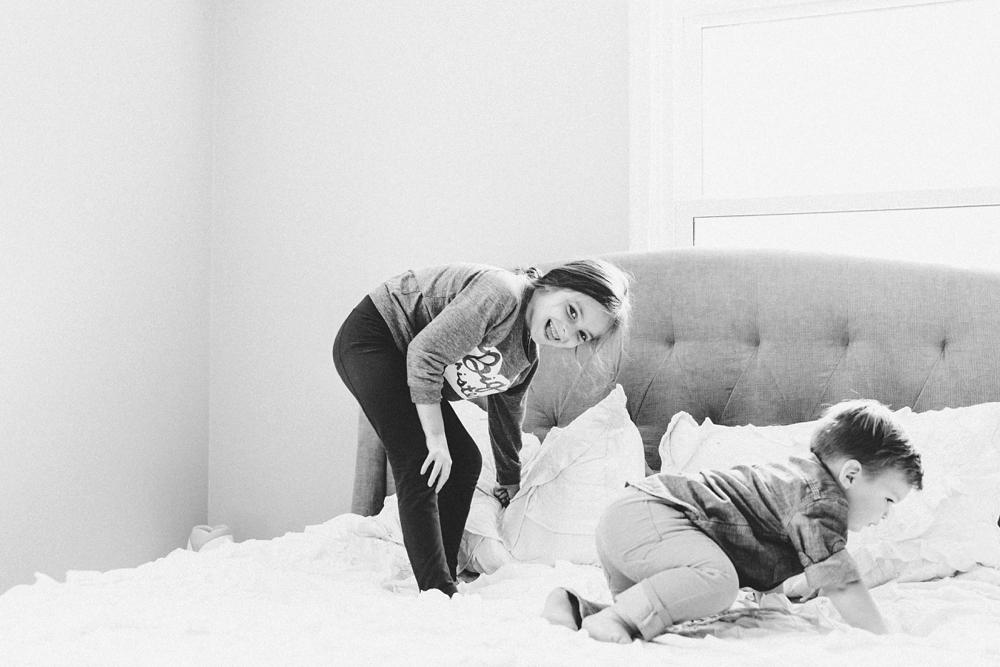 Cincinnati In-Home Lifestyle Family Photos