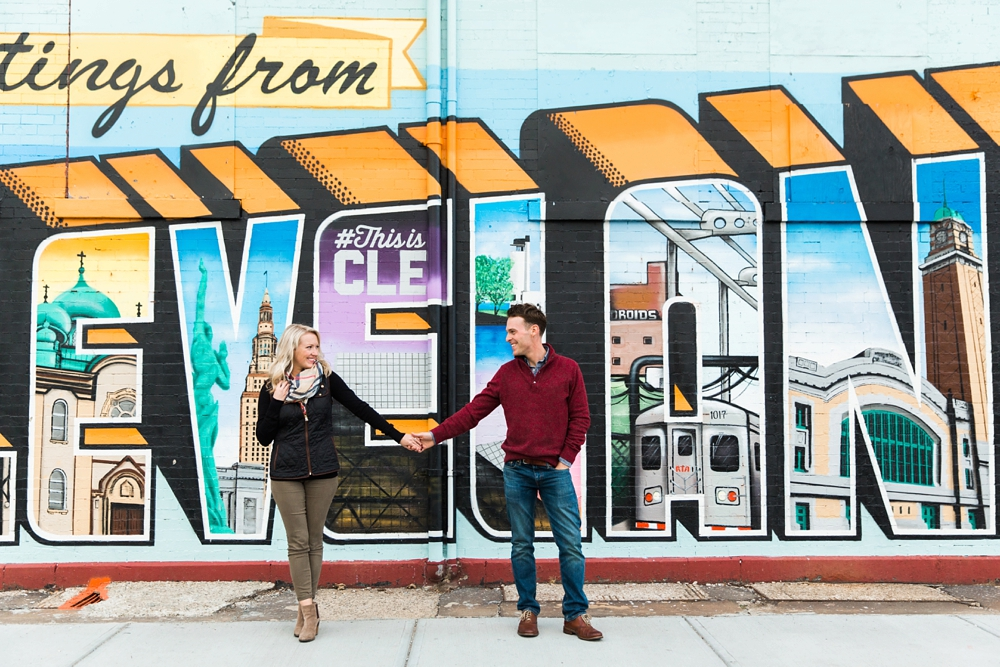 Cleveland Engagement Photographer