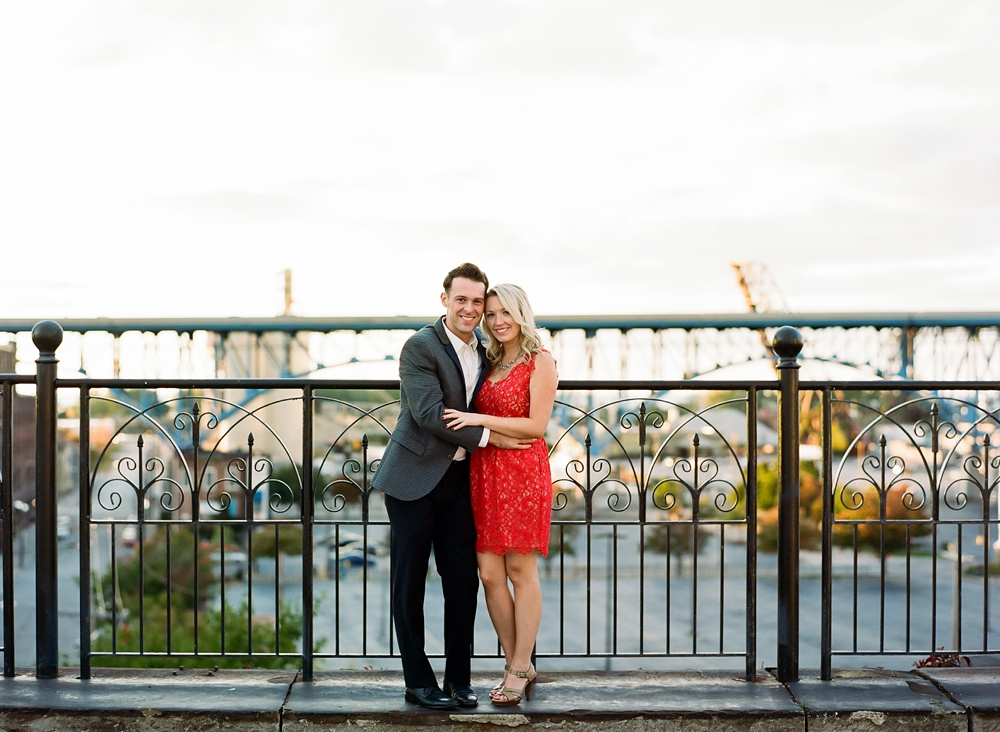 Superior Viaduct Cleveland Engagement Photos