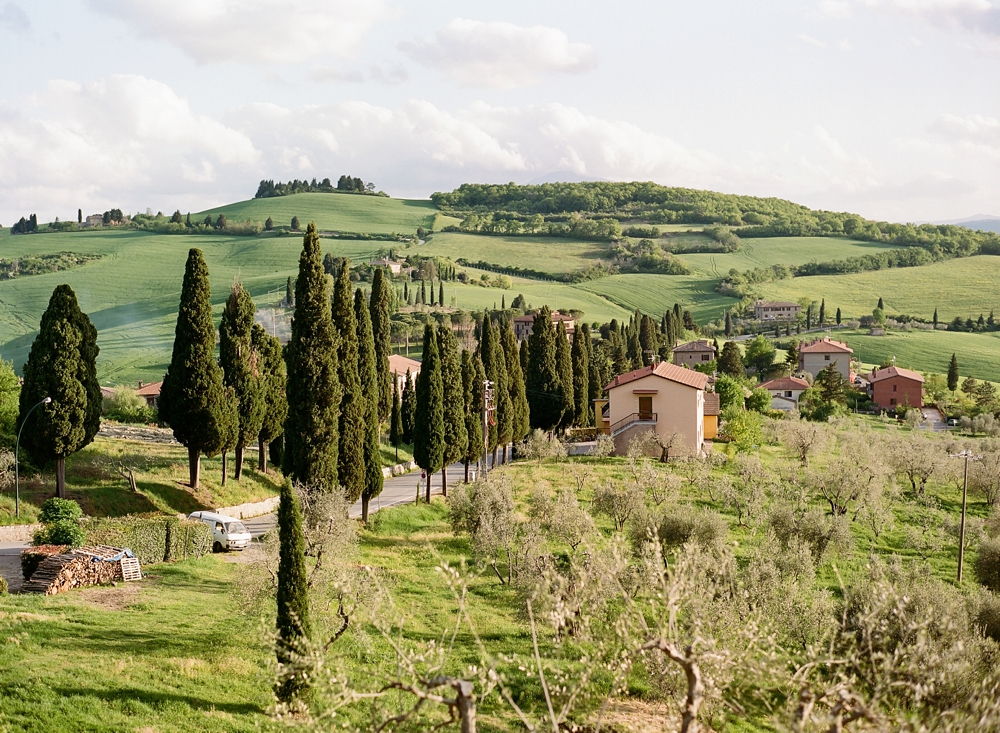 Pienza Italy Travel Photos