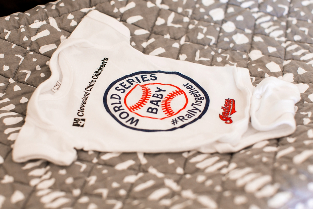 Cleveland Indians World Series Onesie
