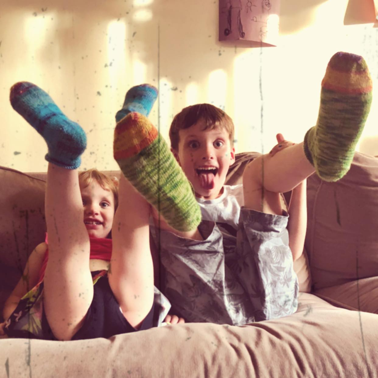 Thanks for the sock, YaYa.jpg