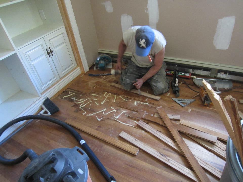 Hardwood Floor Refinishing Project How