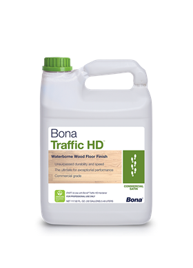 Bona Traffic HD Water Based Polyurethane - Commercial grade, 100% non-yellowing, and fully cured in 3 days!