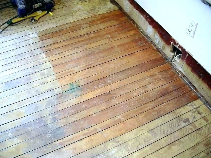 Excessively gapped wood floor.