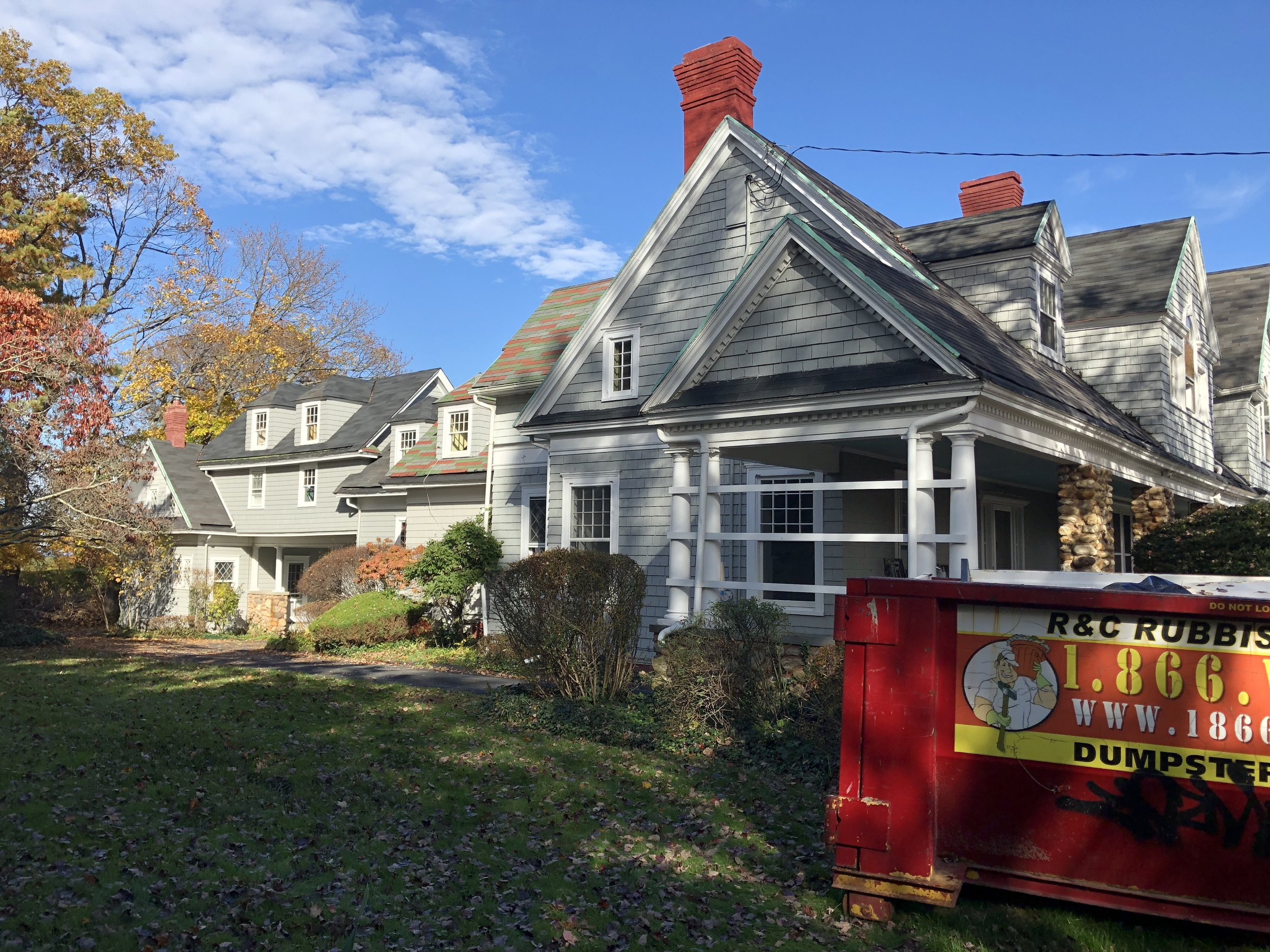 Lovely old home where we did a major flooring project in Centre Island, NY. These older homes are gorgeous and have a lot of character, but it is common to have problems with excessive ventilation!