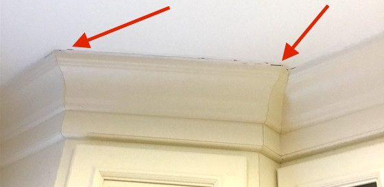 Wood molding also responds to moisture fluctuations! - Check out your moldings in greater detail if your floor is gapped…