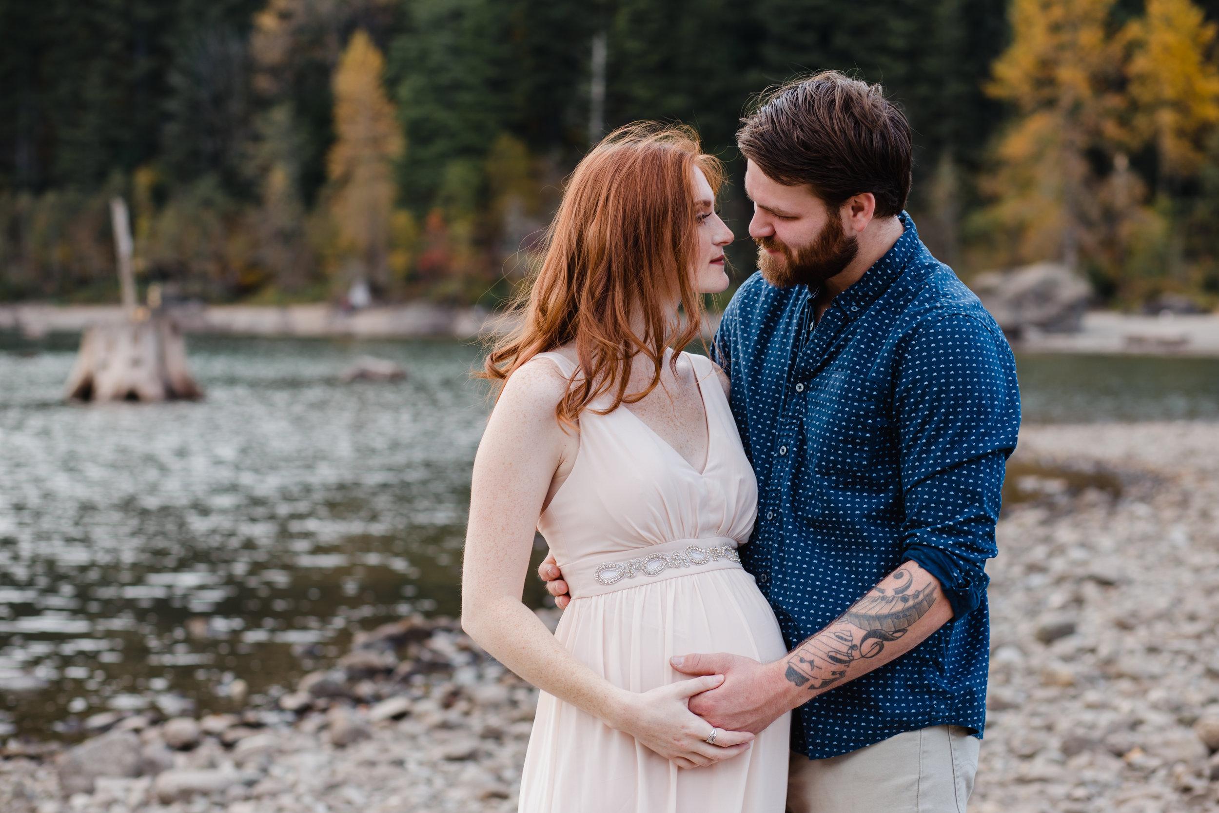 Olympia Maternity Photographer Rattlesnake Lake