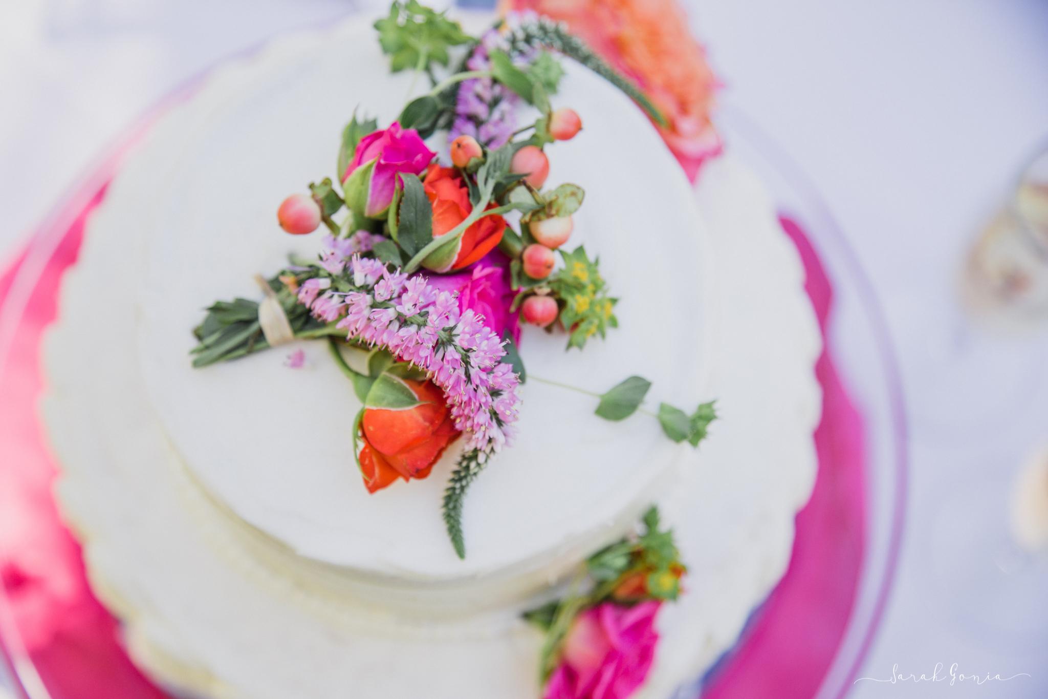 Beautiful cake by Sugar Rush Cupcakes